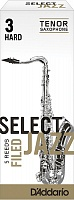 RSF05TSX3H Select Jazz Трости для саксофона тенор, размер 3, жесткие (Hard), 5шт, Rico